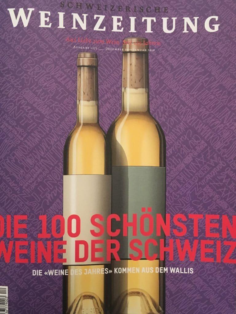 Die 100 schönsten Weine der Schweiz